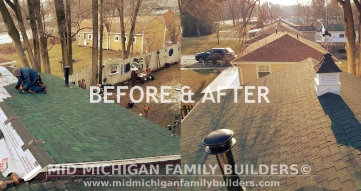 Mid Michigan Family Builders Custom, Construction, Project, Roof, Roofing, Professional, Services, Eastern, Michigan, St Clair County, Macomb County, Wayne County, Free Quote, Builders, New