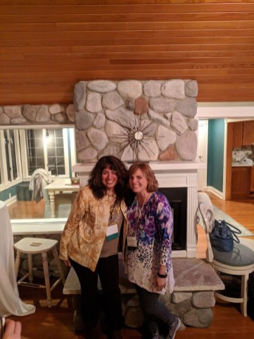 Jennifer Probt with Retreat Chair, Annie O'Rourke