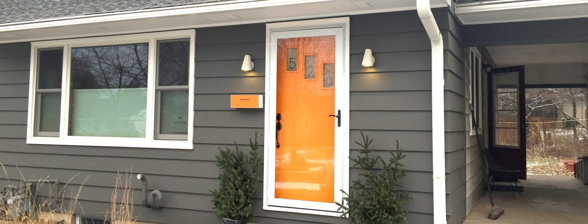 Micro Update: Matching the Front Door to the Mailbox