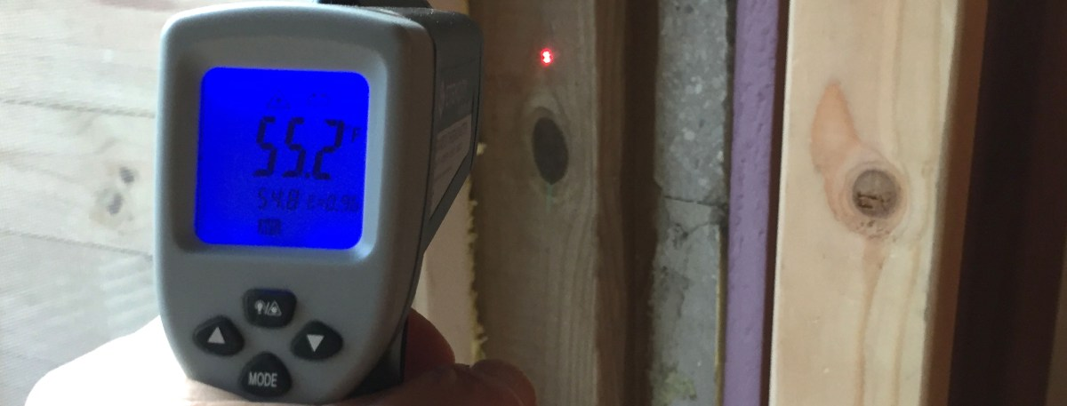 Fun with an Infra Red thermometer