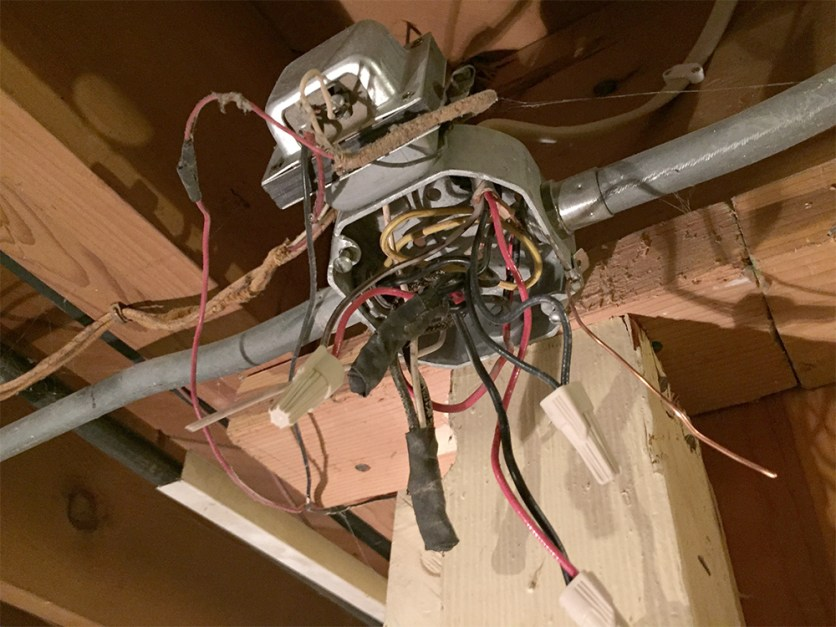 electrical mess