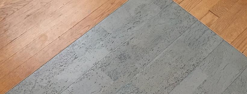 New Cork Flooring Delivered!!!