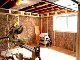insulation SE corner