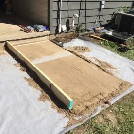 patio sand