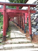 japanese red temple architecture temples arches