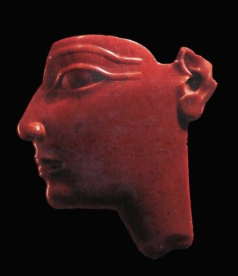 red art_egyptian face