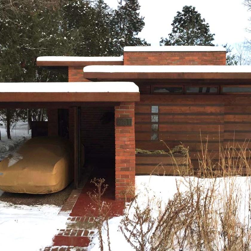Jacobs House, Madison Wisconsin, Frank Lloyd Wright