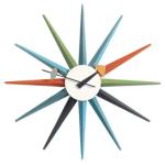 George Nelson -Multicolored Sunburst Clock
