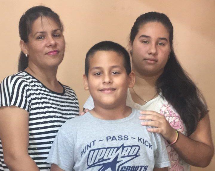 Den kubanska mamman Ayda är nu fri från fängelset