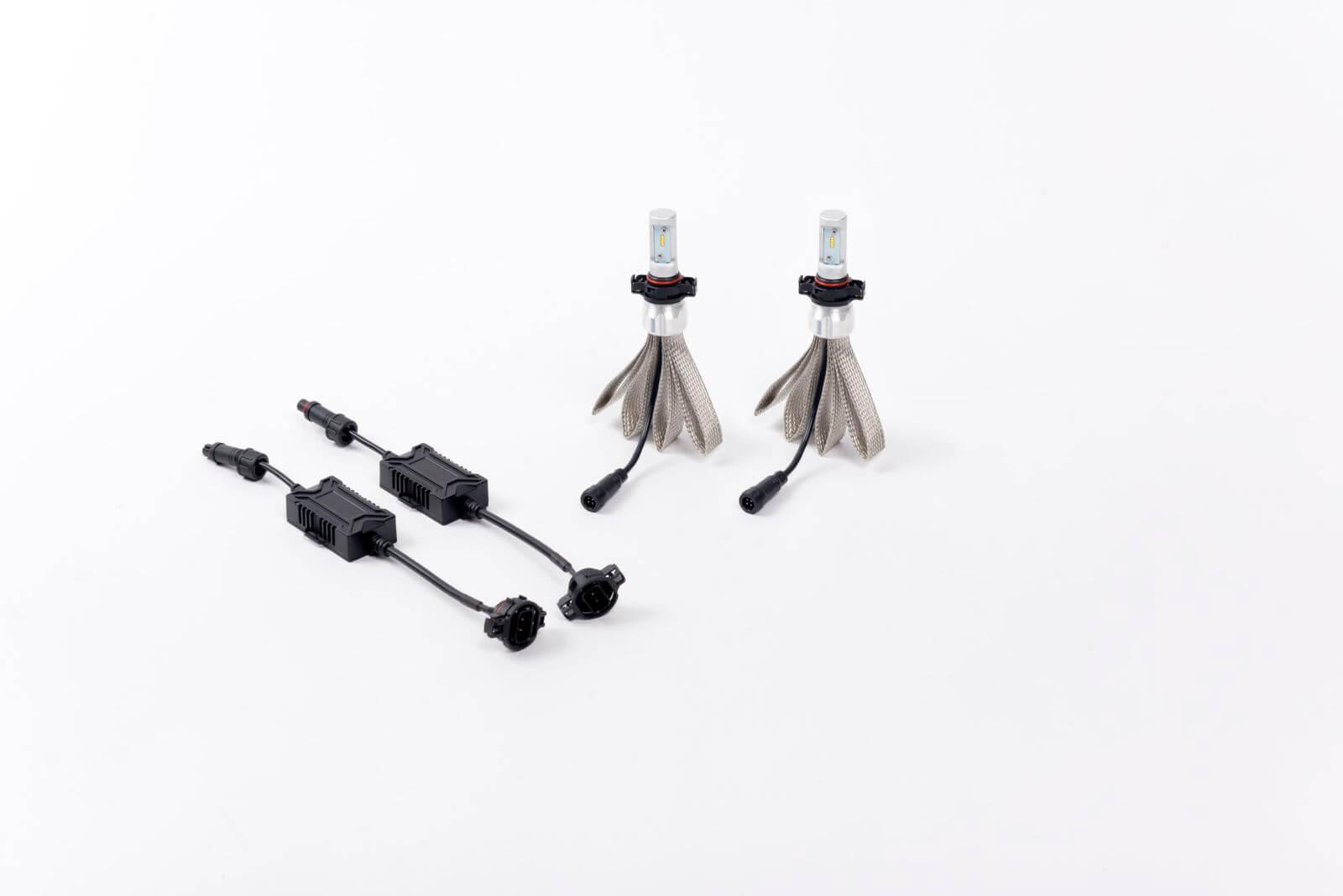 Putco P Silver Lux Pro H10 Led Headlight Conversion
