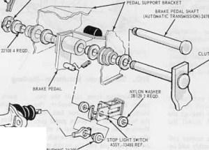 Brake Light Switch  Vintage Mustang Forums
