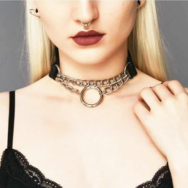New-woman-Gothic-Lock-Chain