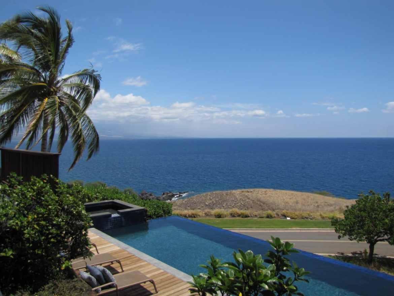 View off the Kona Coast of Hawaii