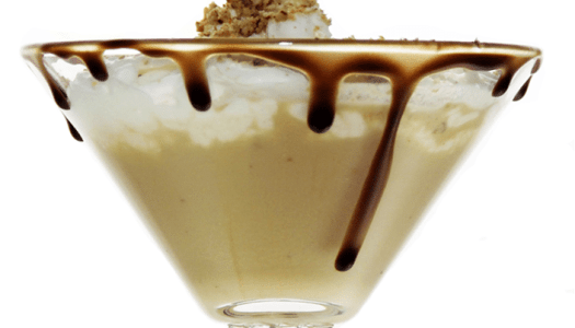Chocolate Pecan Pie Martini