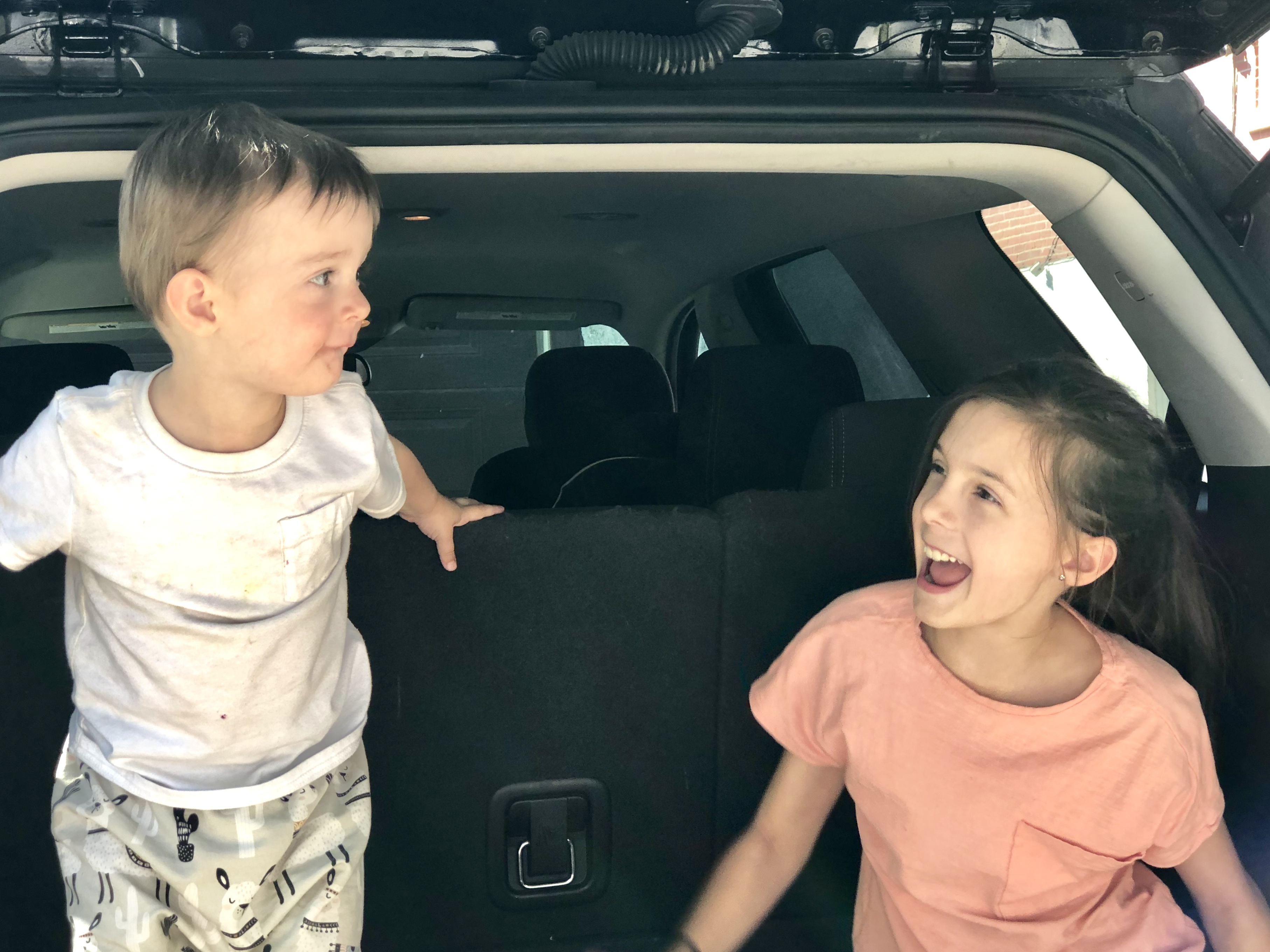 Road Trip with Kids: The Backseat Bin