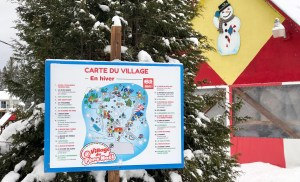 Winter Wonderland: Village du Père Noël