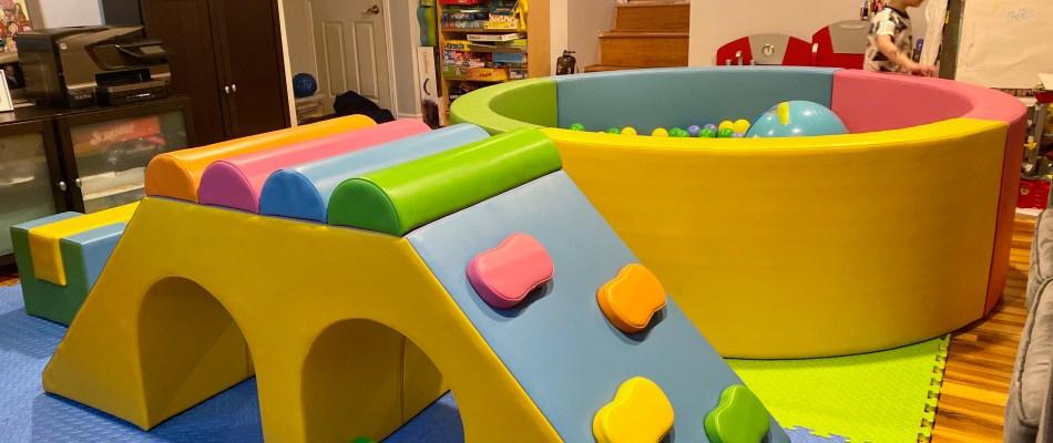 Indoor Kids Activities at Home: Ball Pit Rental