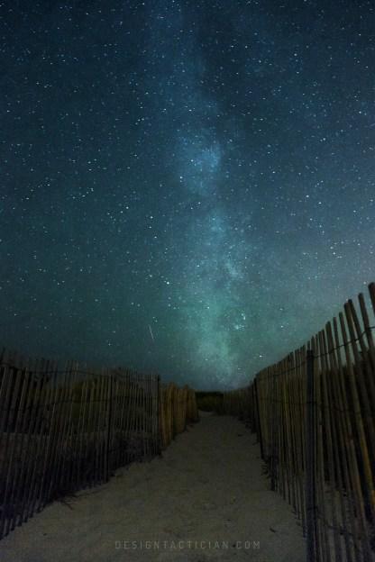 Milky Way over Horseneck Beach