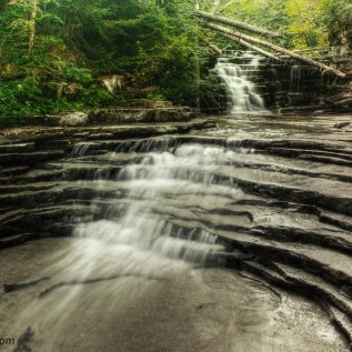 Coliseum Falls – Harts Location , Carroll County, NH , USA.