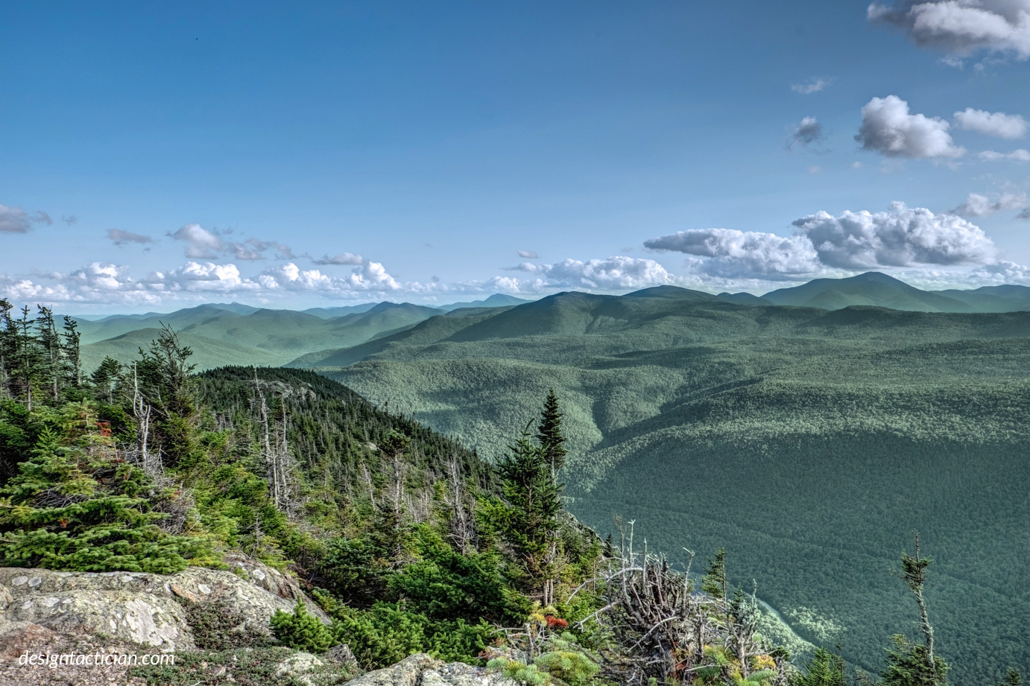 Mt. Webster in Crawford Notch, New Hampshire
