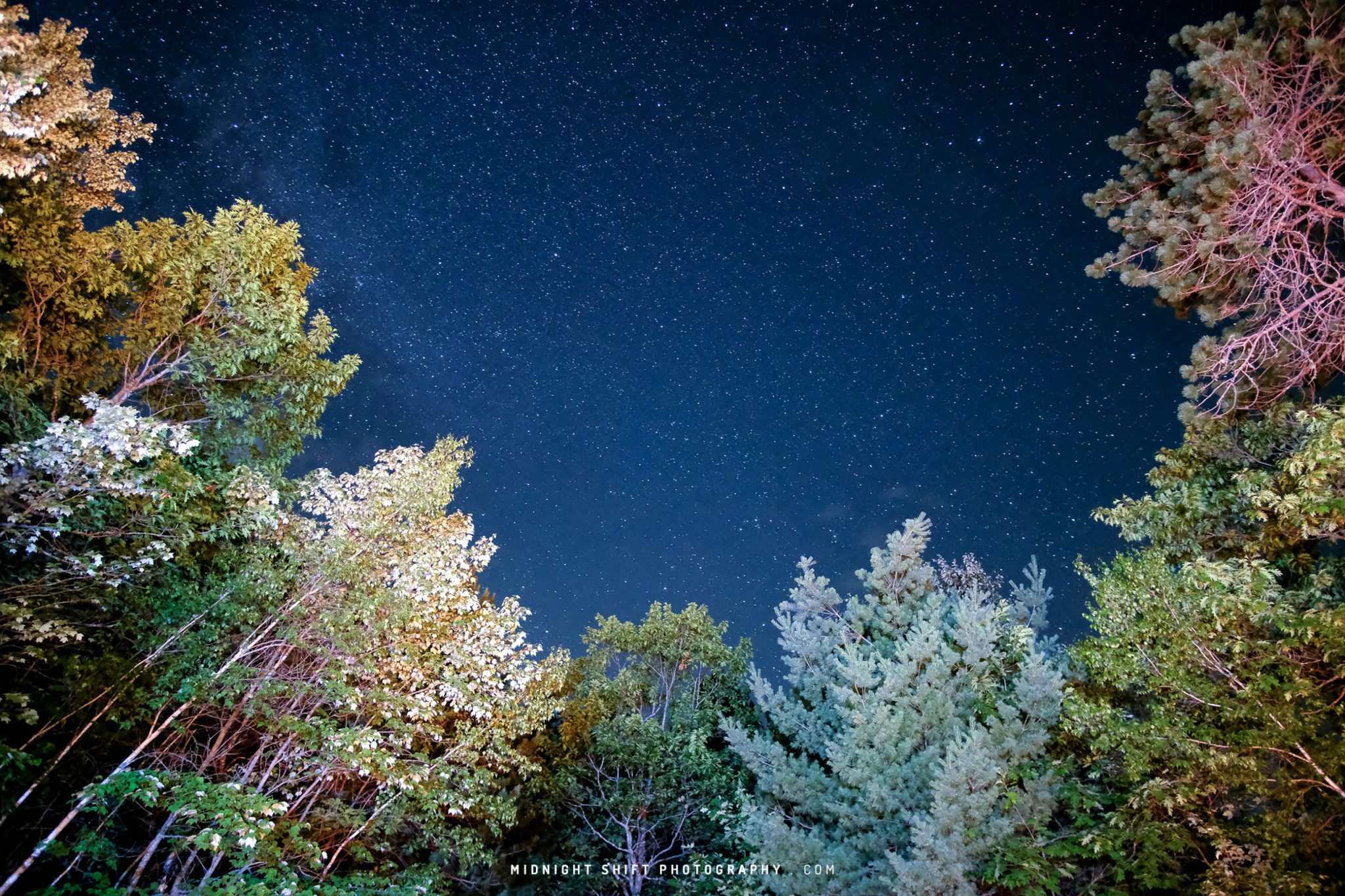 Milkyway Galaxy over Maine 2018