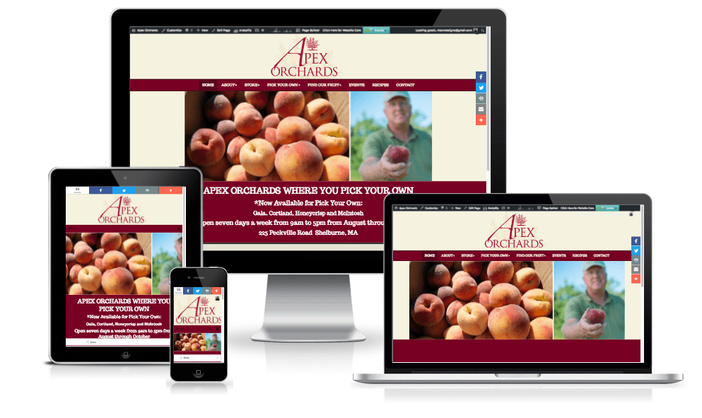 apex-orchards farm website design