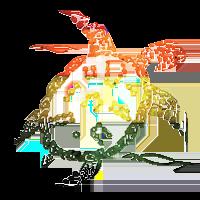 Spaghettifest 15 mascot Lo Shu (a decorative image of a tortoise)
