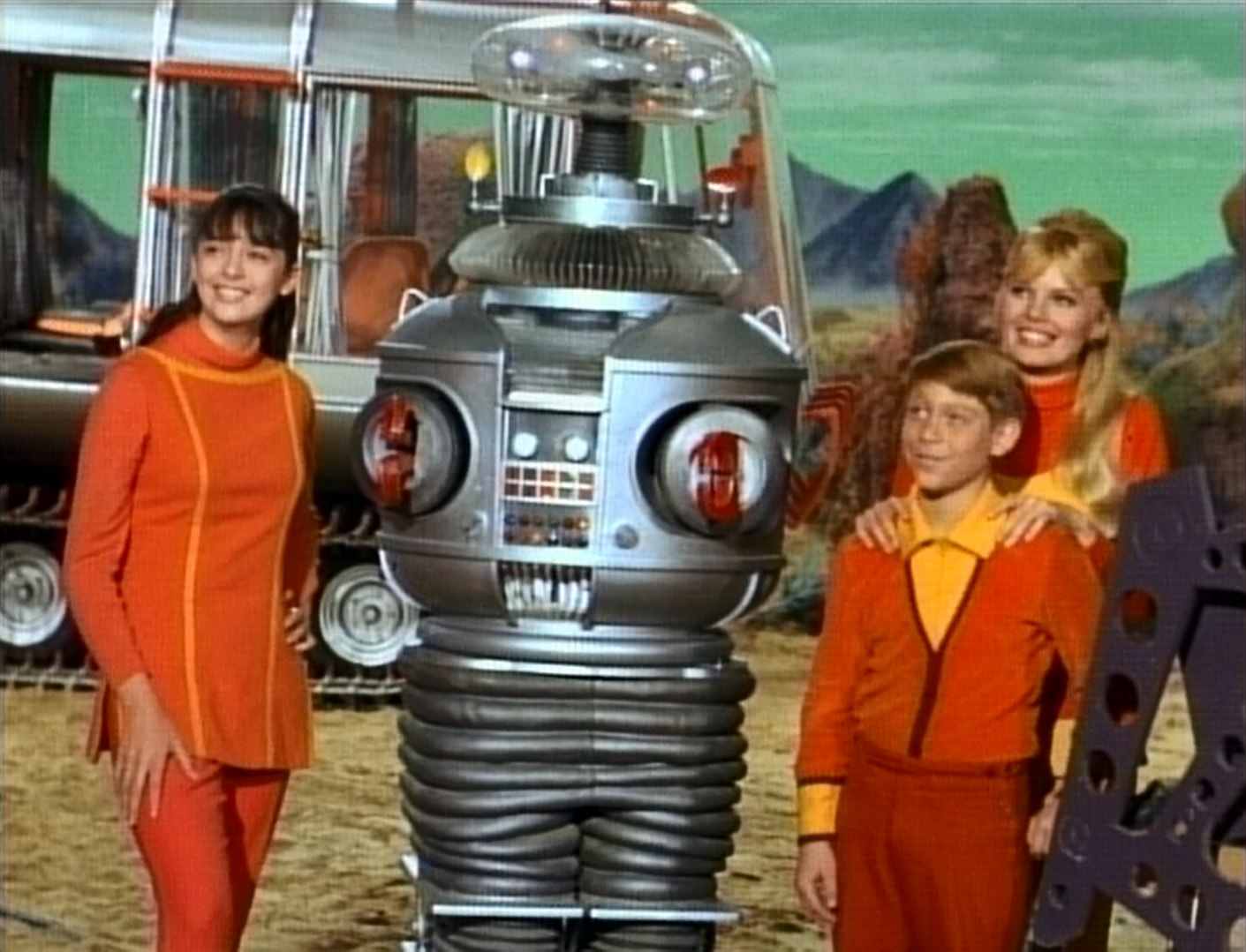 Lost In Space Episode 55 Trip Through The Robot