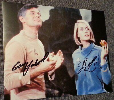 Sally-Kellerman-Gary-Lockwood-Iconic-Autographed-8x10