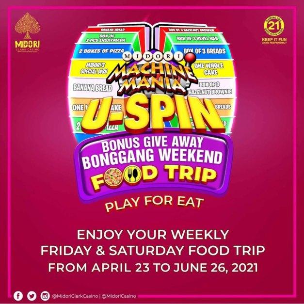 USPIN BONGGANG WEEKEND FOOD TRIP