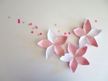 折り紙 桜のわ プロジェクト 2016年2月