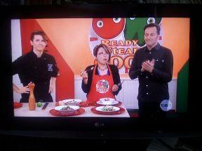 テレビのお料理教室出演