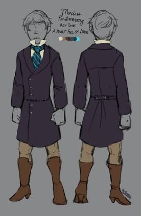 Costume Design- Marius