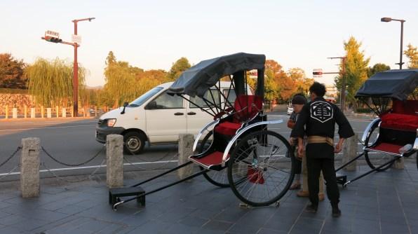 tousristy rickshaw