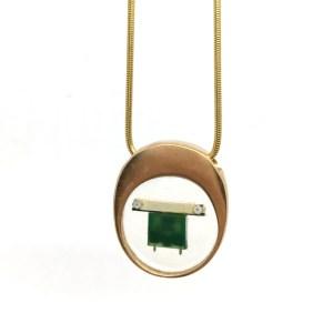 Midorj RB24 - pendente in bronzo creato da Camilla Andreani per Midorj