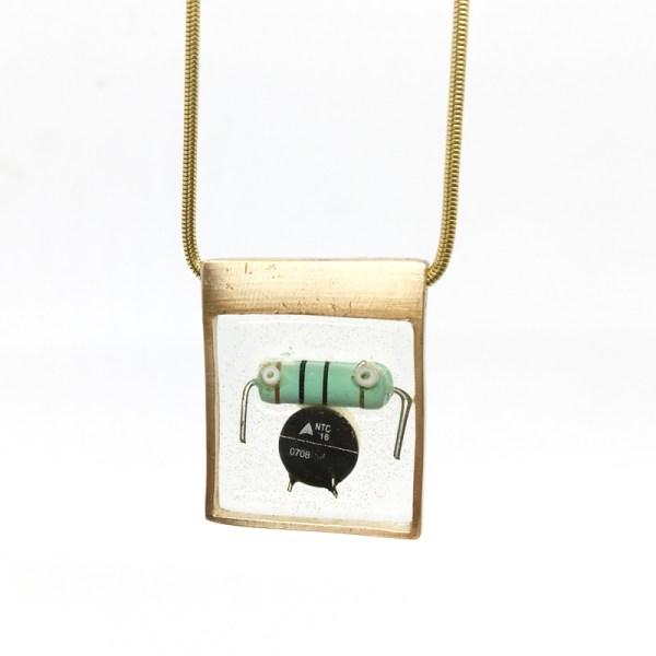 Midorj RS8 - pendente in bronzo creato da Camilla Andreani per Midorj