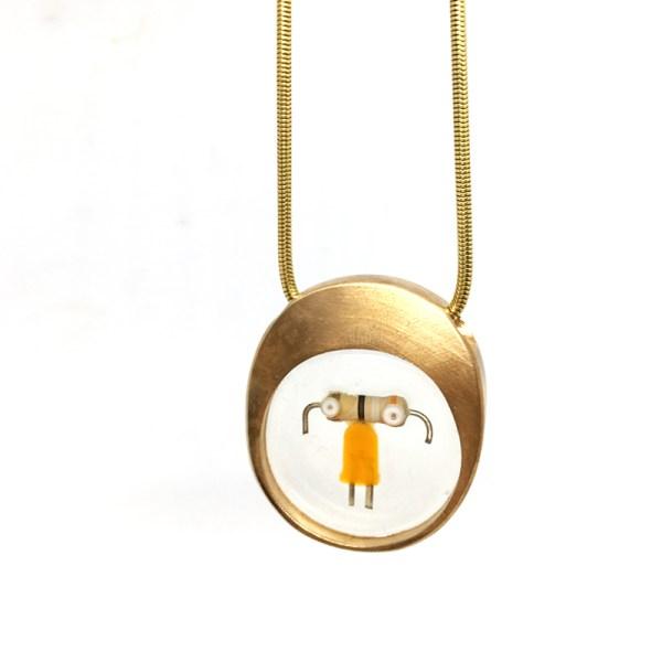 Midorj RB18 - pendente in bronzo creato da Camilla Andreani per Midorj