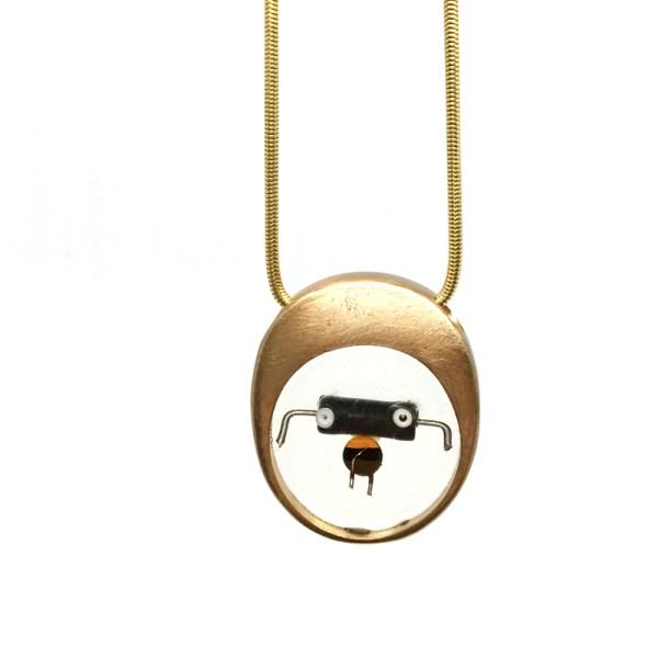 Midorj RB16 - pendente in bronzo creato da Camilla Andreani per Midorj