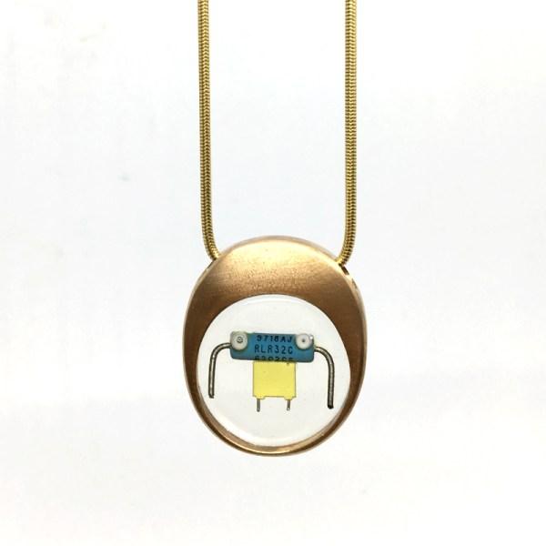 Midorj RB3 - pendente in bronzo creato da Camilla Andreani per Midorj