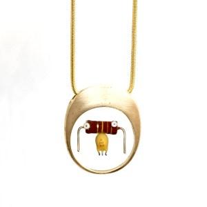 Midorj RB38 - pendente in bronzo creato da Camilla Andreani per Midorj