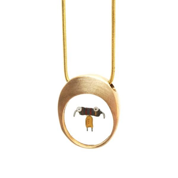 Midorj RB39 - pendente in bronzo creato da Camilla Andreani per Midorj
