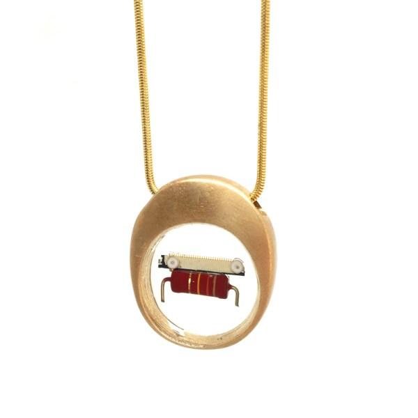 Midorj RB40 - pendente in bronzo creato da Camilla Andreani per Midorj