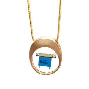Midorj RB43 - pendente in bronzo creato da Camilla Andreani per Midorj