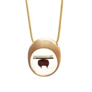 Midorj RB44 - pendente in bronzo creato da Camilla Andreani per Midorj
