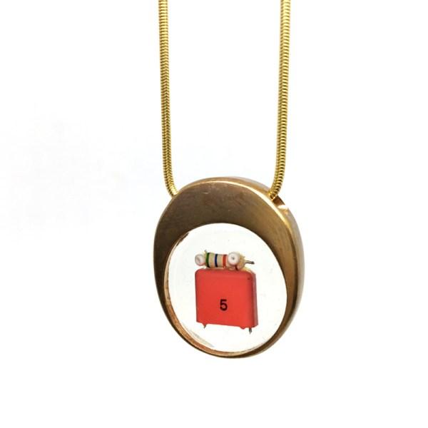 Midorj RB48 - pendente in bronzo creato da Camilla Andreani per Midorj