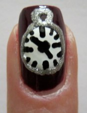 Heschel time nail art