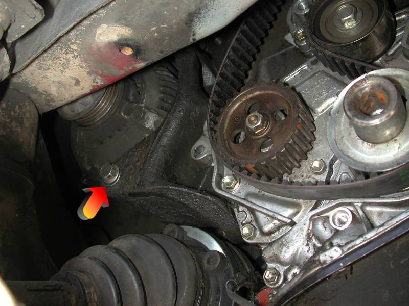 How To Replace The Timing Belt €� Midship Runabout