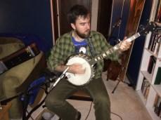 Alex Mauney on banjo