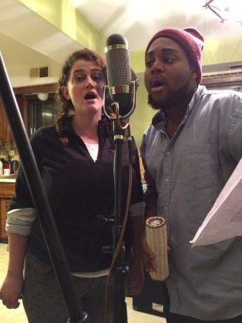 Elizabeth Rentfro and Trey Wright singing those gorgeous harmonies