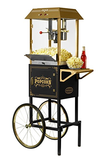 10 oz Kettle Popcorn Popper Cart